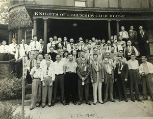 Class Initiation - June 24, 1945
