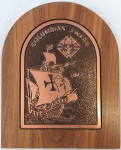 Columbian-Award-1991-1992