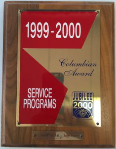 Columbian-Award-1999-2000