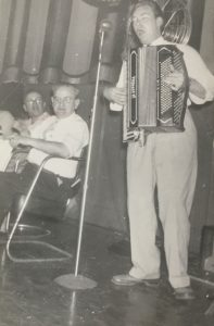Entertainment by Accordian