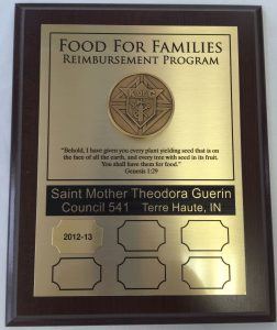 Food-for-Families-Plaque
