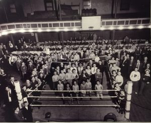 Lads and Dads - May 1943 in Assembly Building