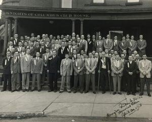 Monsignor Finlay B Walker Memorial Class - April 30, 1950