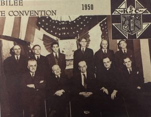 Past Grand Knights from 1950 State Convention