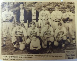 Sacred Heart Baseball Team