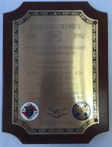 Scottish-Rite-Congratulations-Plaque-1982
