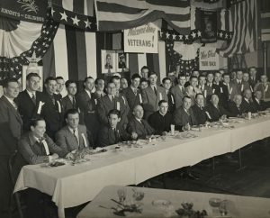 Veterans Dinner Following World War II