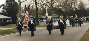 4th Degree Leading St Patricks Day Parade - March 13, 1999