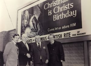 Christmas Campaign - K of C & Scottish Rite 1975