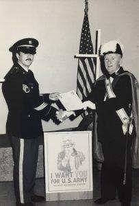GK Edward Froning Recognizing the US Army