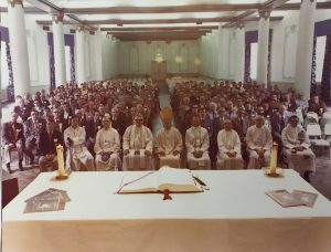Mass at State Convention in French Lick 1973