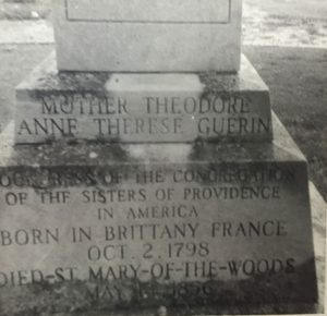 Mother Theodore Tombstone